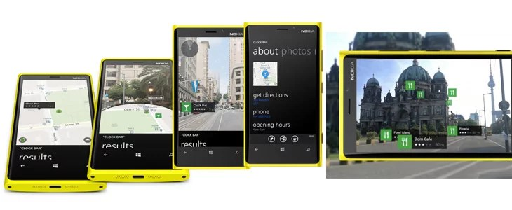 Nokia HERE Map gets integrated with LiveSight Augmented Reality feature