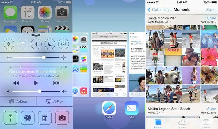 Apple Overhauled iOS 7 mobile operating system