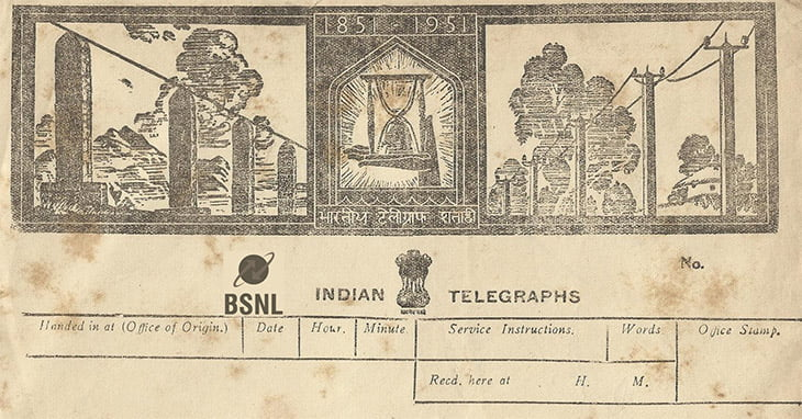 Full Stop for Telegrams as BSNL to shut 160 year old Telegraph Services