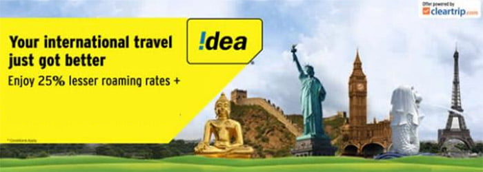 Idea Cellular National Roaming Plans
