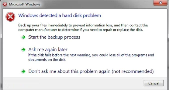 Partition lost or damaged in Windows 7 on power failure [SOLVED]