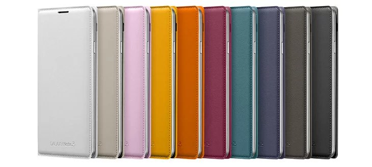Samsung GALAXY Note 3 back pack colors