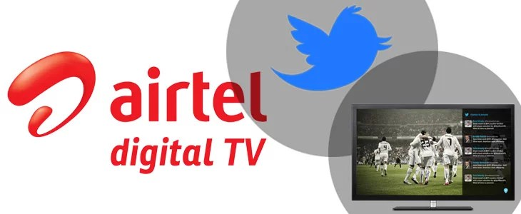 Airtel Digital TV gets integrated with Twitter - now Live Tweets On TV