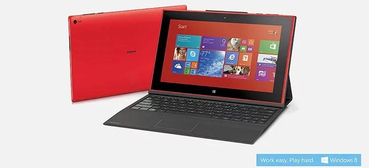 Nokia enters the tablet race Unveils Lumia 2520 Windows tablet - 10.1 inch Full HD Display, Windows RT 8.1