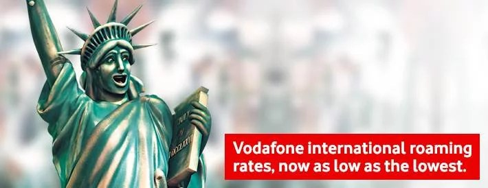 Vodafone India slashes International Roaming rates by 95% on Data and 78% on Voice Calls