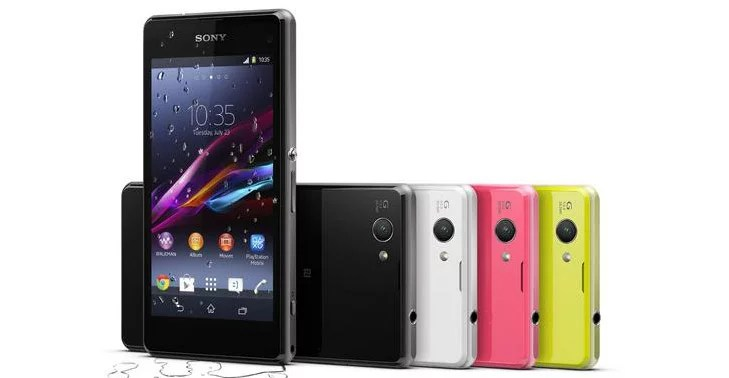 Sony Xperia Z1 Compact - 20.7 MP camera, 720p display, Snapdragon 800 chip