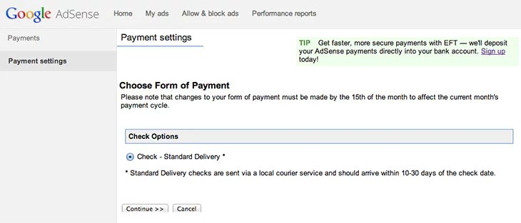Google India brings EFT Payments to Adsense Publishers In India