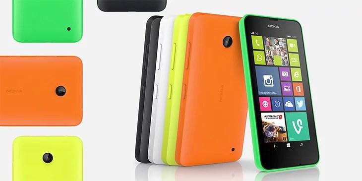 Lumia 630 with dual-sim, Lumia 634 with LTE