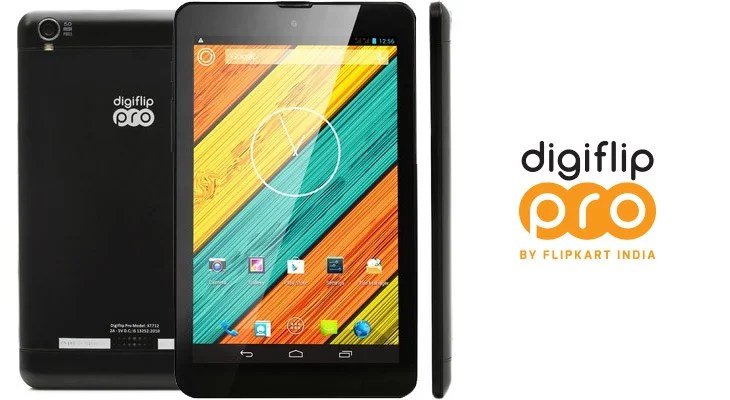 Flipkart comes with its own Tablet - Digiflip Pro XT 712 at Rs 9999