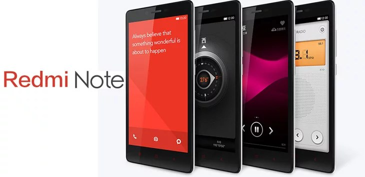 Redmi Note India features, pricing and specification