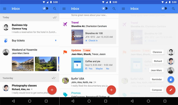The Google Now for email - Inbox by Google