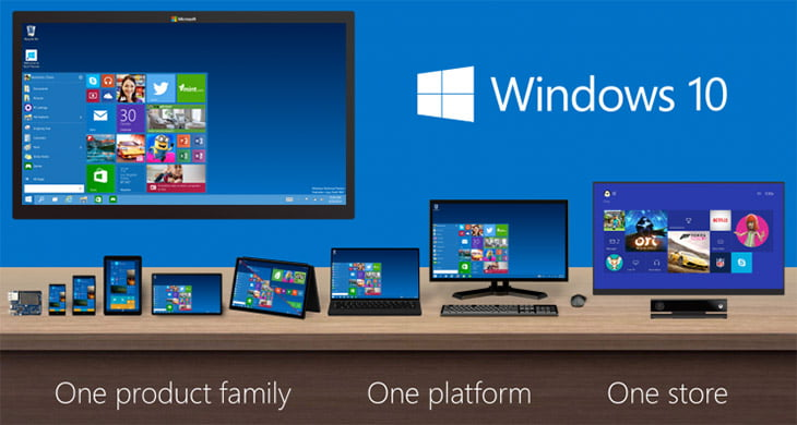 Microsoft announced Windows 10 OS - One Platform for All