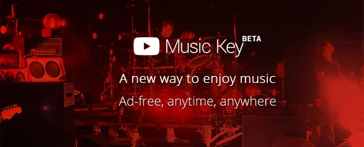 YouTube introduces Music Key - Ads Free, Offline viewing, Background play & more