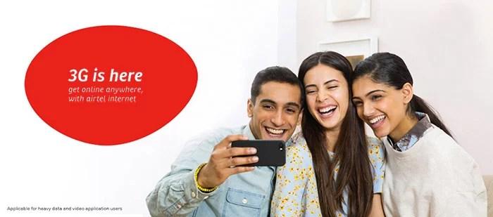 Airtel upgrades its 3G Network to Offer Premium Platinum 3G Service