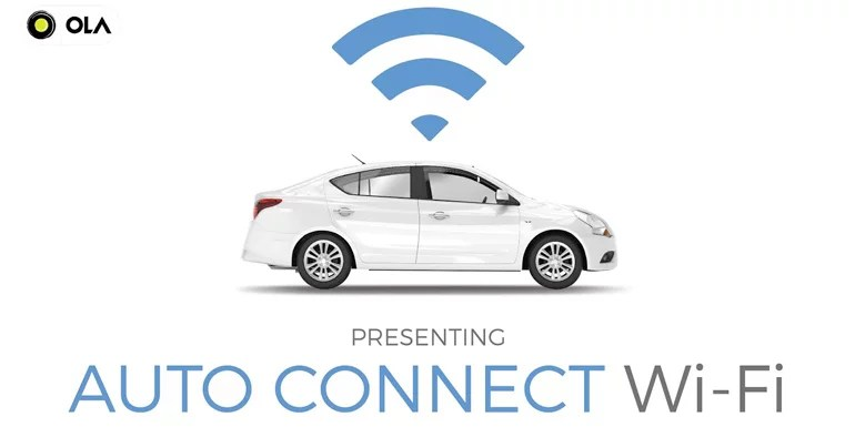 Now auto-connect to Wi-Fi while on Ola cabs with One-Time Authentication