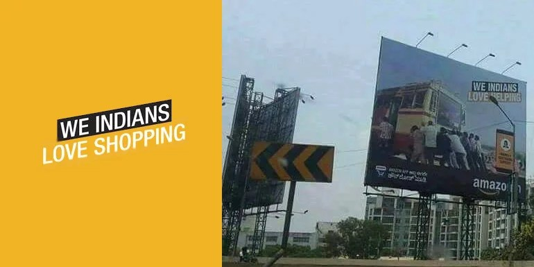 Amazon India in trouble with its Billboard insulting KSRTC