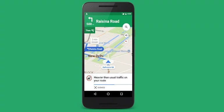 Avoid Traffic Jams - Traffic alerts come to Google Map in India