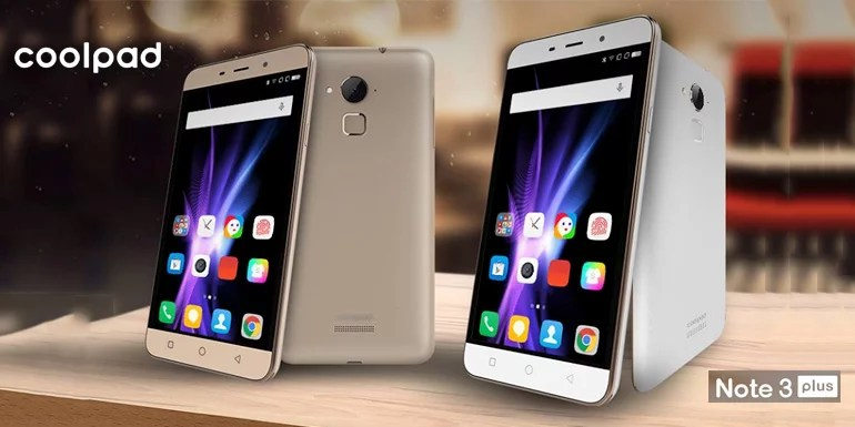 Upgraded! Coolpad Note 3 Plus with full HD display, 13MP camera & 4G LTE launched in India
