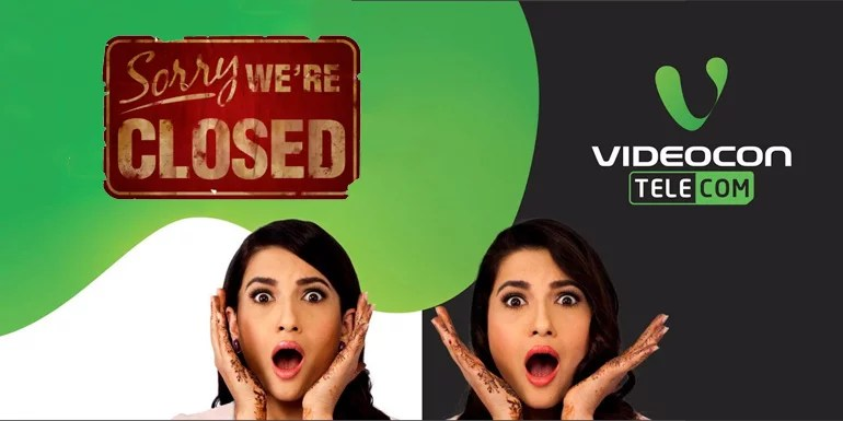 Videocon Telecom to shut down Mobile Services in six telecom circle on 11th May 2016