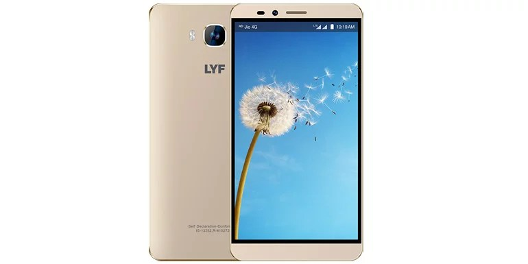 LYF Wind 2 launched with BIG 6-inch HD display, true 4G LTE with VoLTE