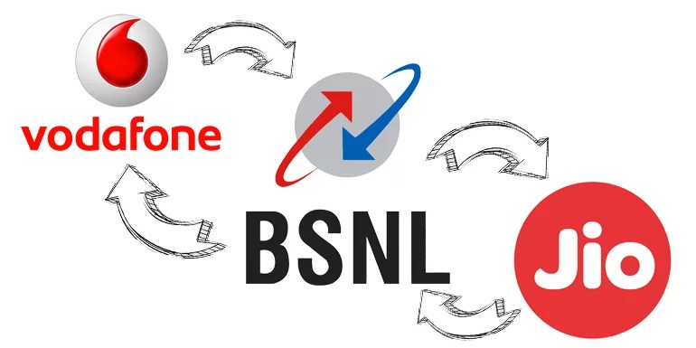 BSNL sign pan-India 4G & 2G intra-circle roaming pact with Reliance Jio & Vodafone