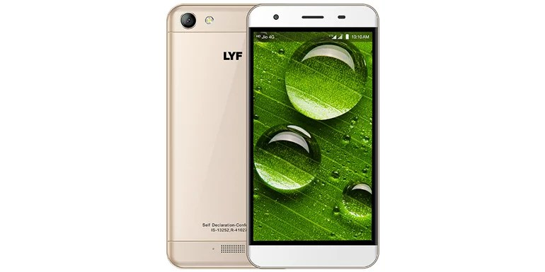 LYF Water 11 launched with 3GB RAM, Quad Core processor, 4G VoLTE