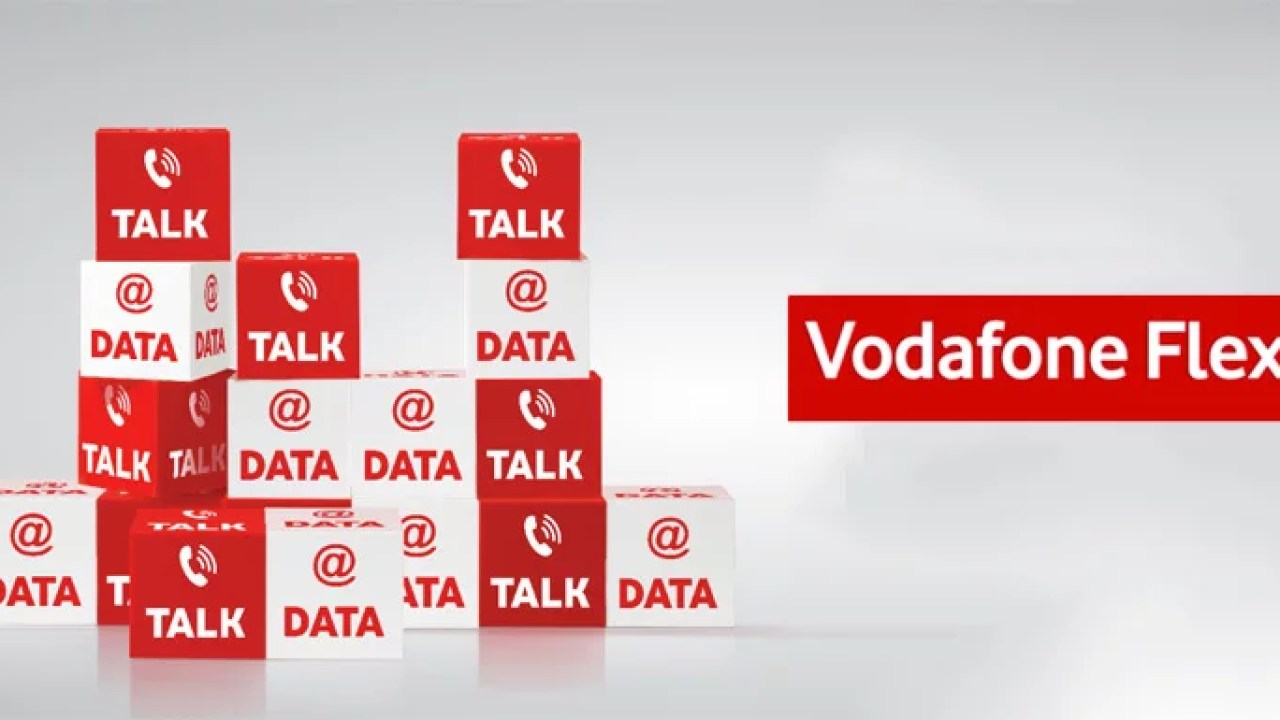 Vodafone FLEX - One recharge for Voice, Data, SMS & Roaming