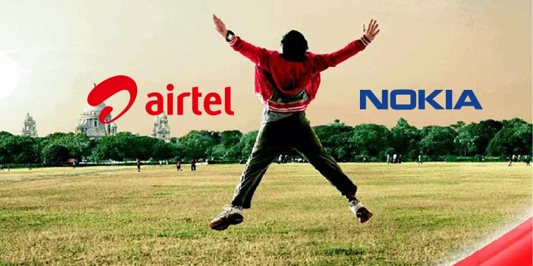 Airtel partners with Nokia to expand 4G deployment across nine circles