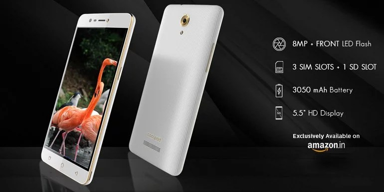 Coolpad Mega 3 unveiled with Triple SIM, MediaTek SoC & 4G VoLTE