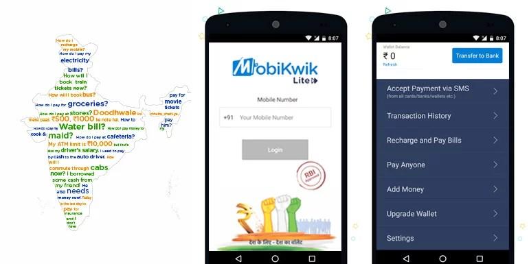 MobiKwik Lite - lighter & feature rich mobile digital Wallet app