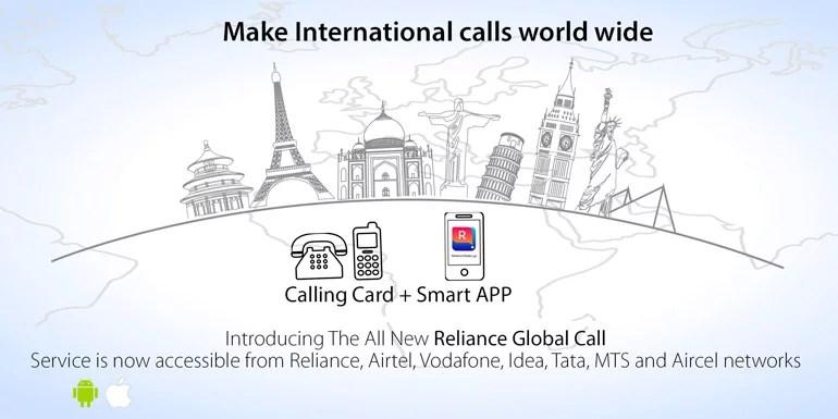 RCom introduces Reliance Global Call India app for cheap International Calls