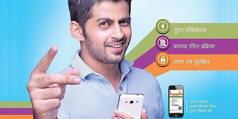 Telenor launches Aadhaar based e-KYC SIM activation in Six Telecom circles