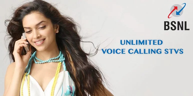 BSNL starts offering Unlimited voice call & bundled 3G data, STVs starts from Rs 99