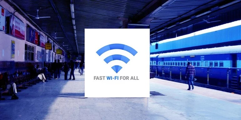 Google free Public WiFi rolls out to 100th Indian Railway Station