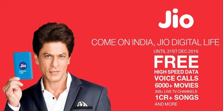 Reliance Jio extends Welcome Offer to 31st March 2017 with Jio Happy New Year Offer