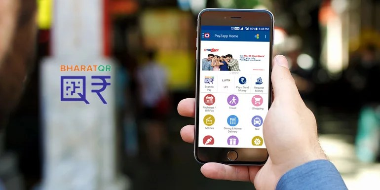 Bharat QR - scan and pay on-the-go for cashless payment