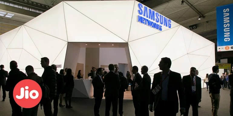Reliance Jio partners Samsung to upgrade its LTE network and bring 5G in India