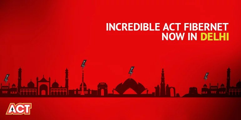 ACT Fibernet doubles Data and Speed on all Broadband Plans for Delhi customers