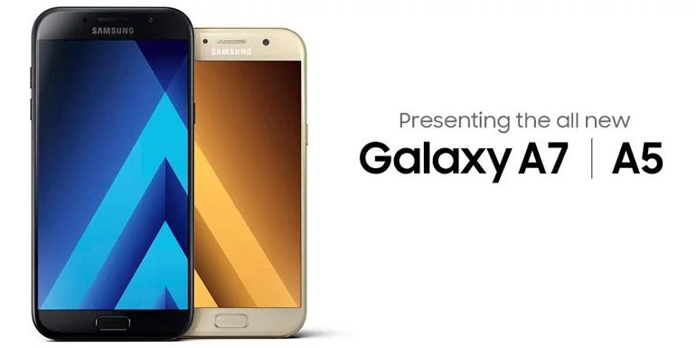 Samsung unveils Galaxy A5 (2017) and Galaxy A7 (2017) - 16MP camera, IP68, 4G VoLTE