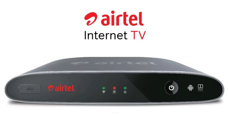 Airtel launches Internet TV powered by Android TV Platform packs DTH and Internet-based services