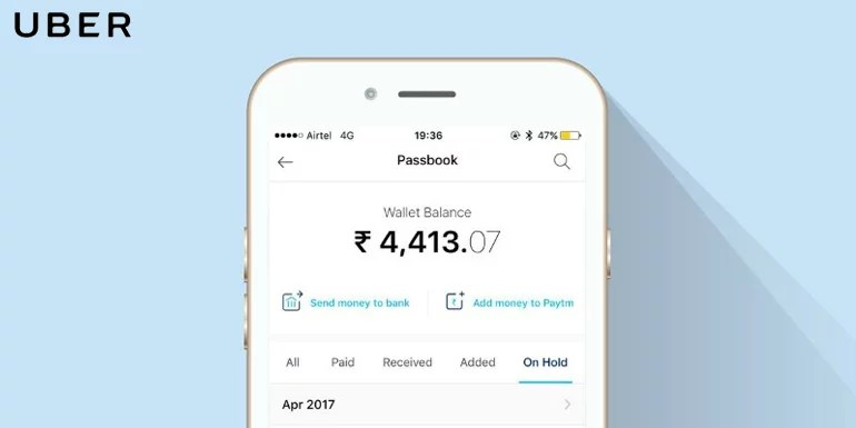 Uber introduces a new feature to curb free booking via Paytm