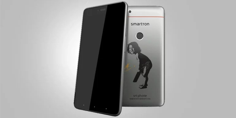 Smartron launches Sachin Tendulkar branded srt.phone with Snapdragon SoC, 4G VoLTE