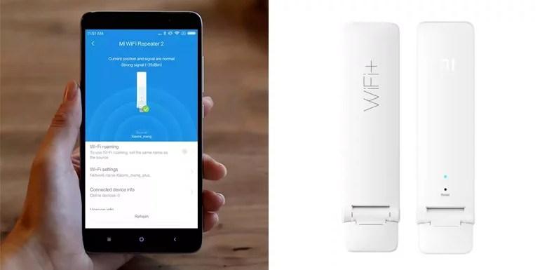 Xiaomi launches Mi Wi-Fi Repeater 2 - the Wi-Fi range booster