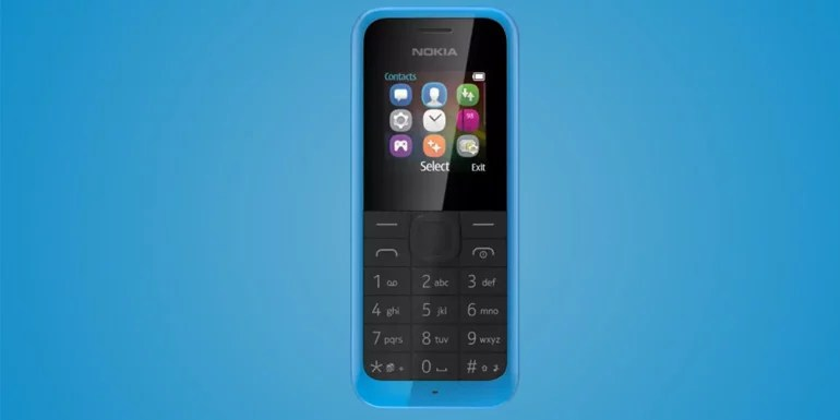 Nokia 105 Feature Phone get's a new life - Relaunches with improved Design
