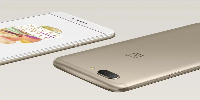 OnePlus 5 now in limited edition Soft Gold colour