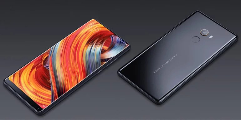 Xiaomi Mi MIX 2 Full Screen bezel-less display and Ceramic body