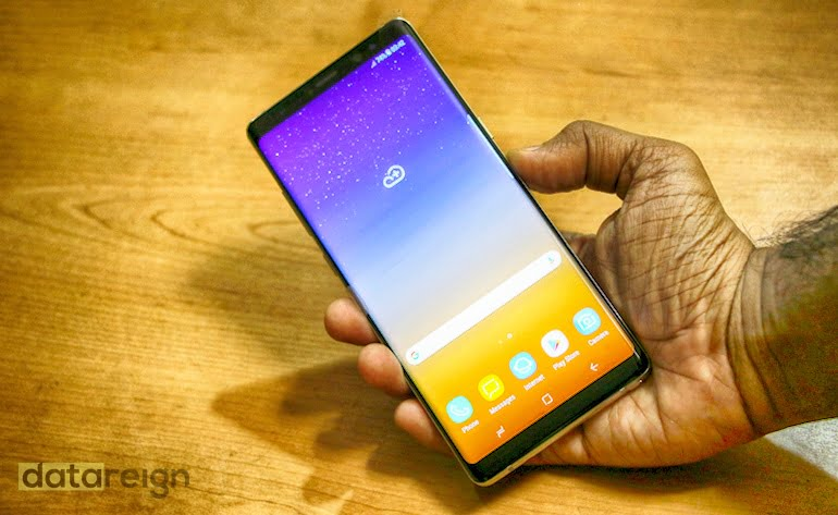 Samsung Galaxy Note 8 Display review