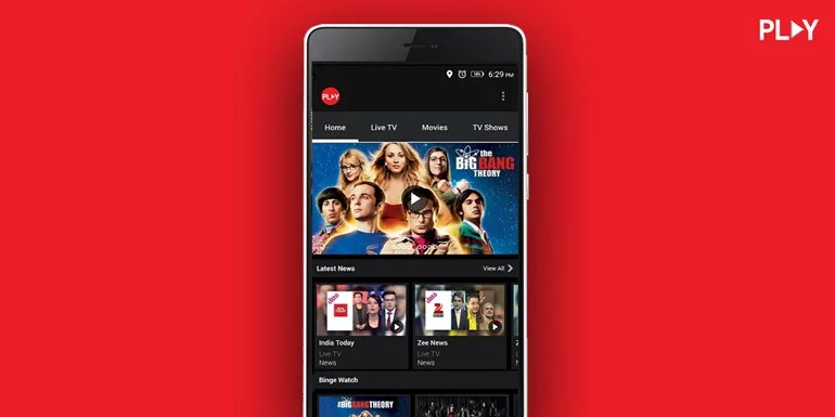 Vodafone Play now covers over 300 Live TV channels, free Subscription extended till 30th June
