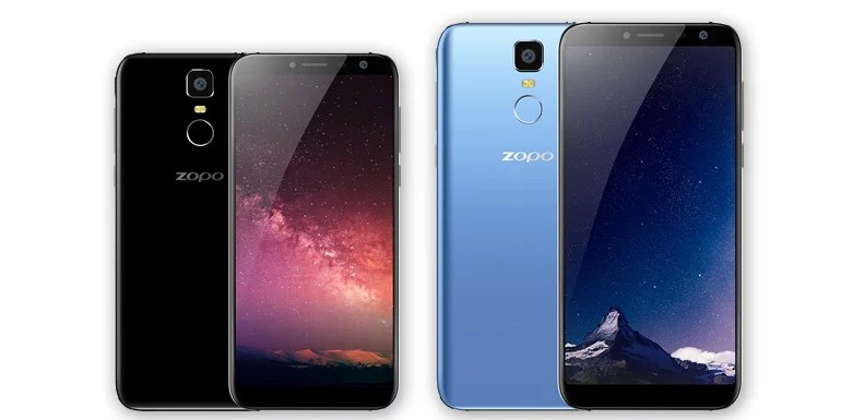 Zopo unveils Flash X1 and Flash X2 with infinity bezel-less display, 4G VoLTE