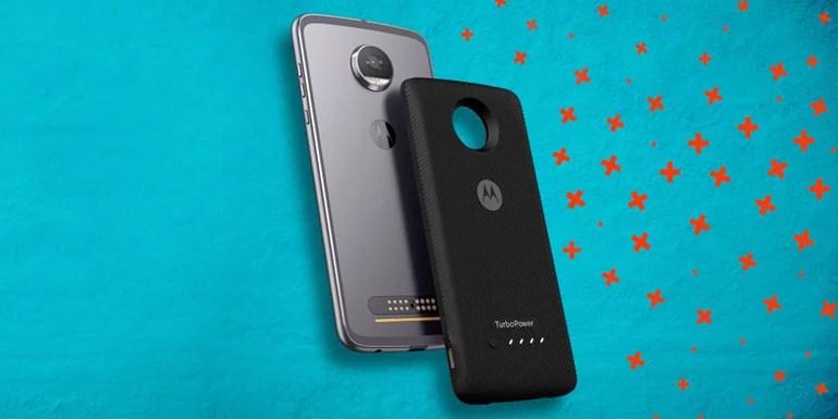 Moto Turbopower pack for Motorola Moto Z series smartphones